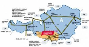Mapa príjazdu